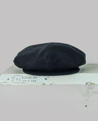 Yohji Yamamoto Pleated Beret Hat