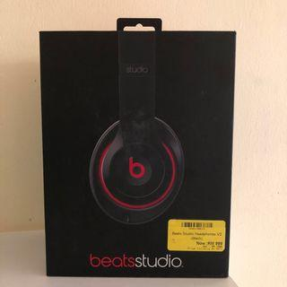 Beats Studio Headphones v2 (black)