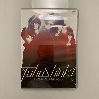 Tohoshinki 東方神起 TVXQ - History in Japan Vol 2