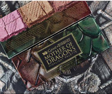 Urban Decay(Aunthentic) x Game of Thrones Mother of Dragons Highlight Palette