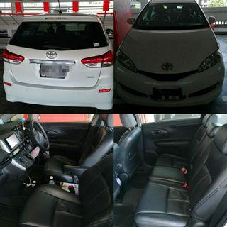 Toyota Wish 2nd Gen for rent