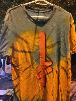 Deathwish Tye dye T-shirt