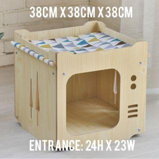 READY STOCK Cat box / house / nest