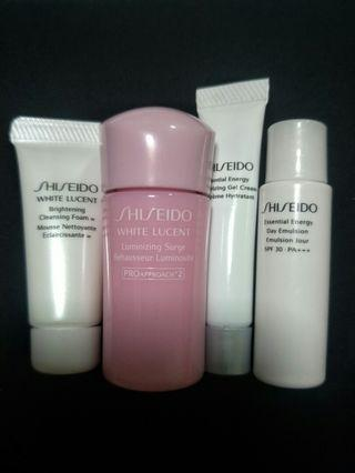 Shiseido White Lucent Travel Pack set (4 items)