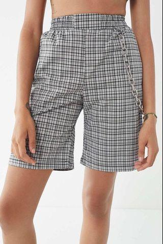 The ragged priest plaid shorts