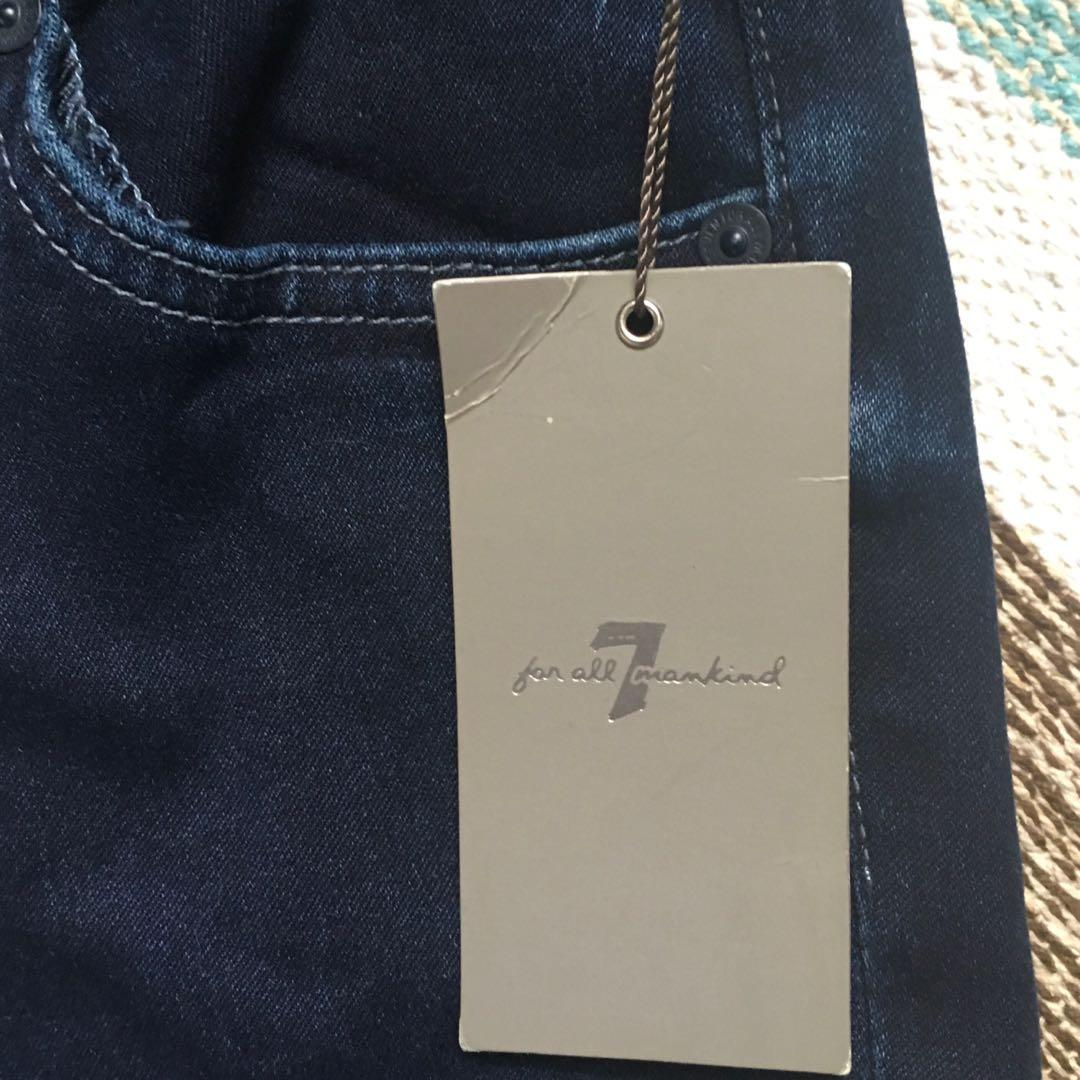 7 for All Mankind Jeans - The Skinny Bootcut - Sz 24