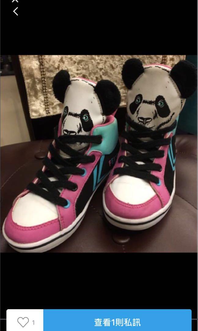 造型女童鞋