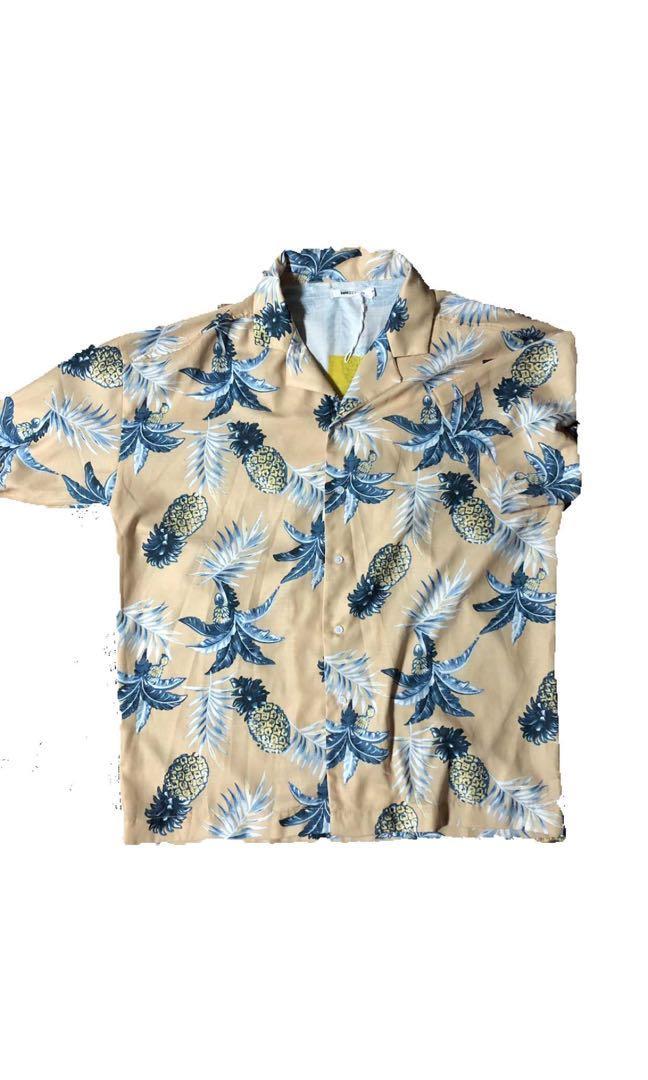 夏威夷韓式襯衫
