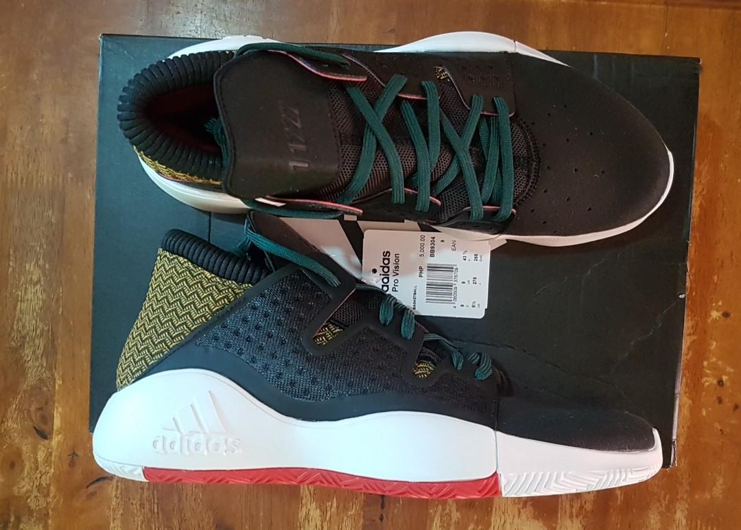 adidas Pro Vision Shoes Black | adidas New Zealand