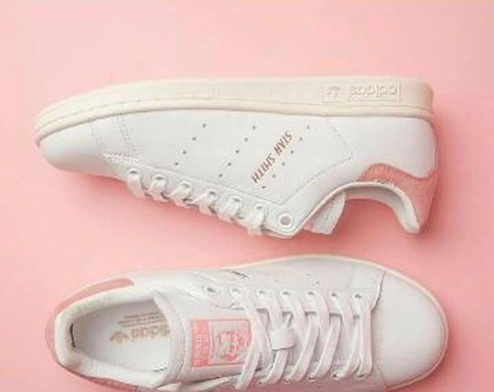 new arrival 2e3a1 3de63 Adidas Stan Smith White Ray Rosegold on Carousell