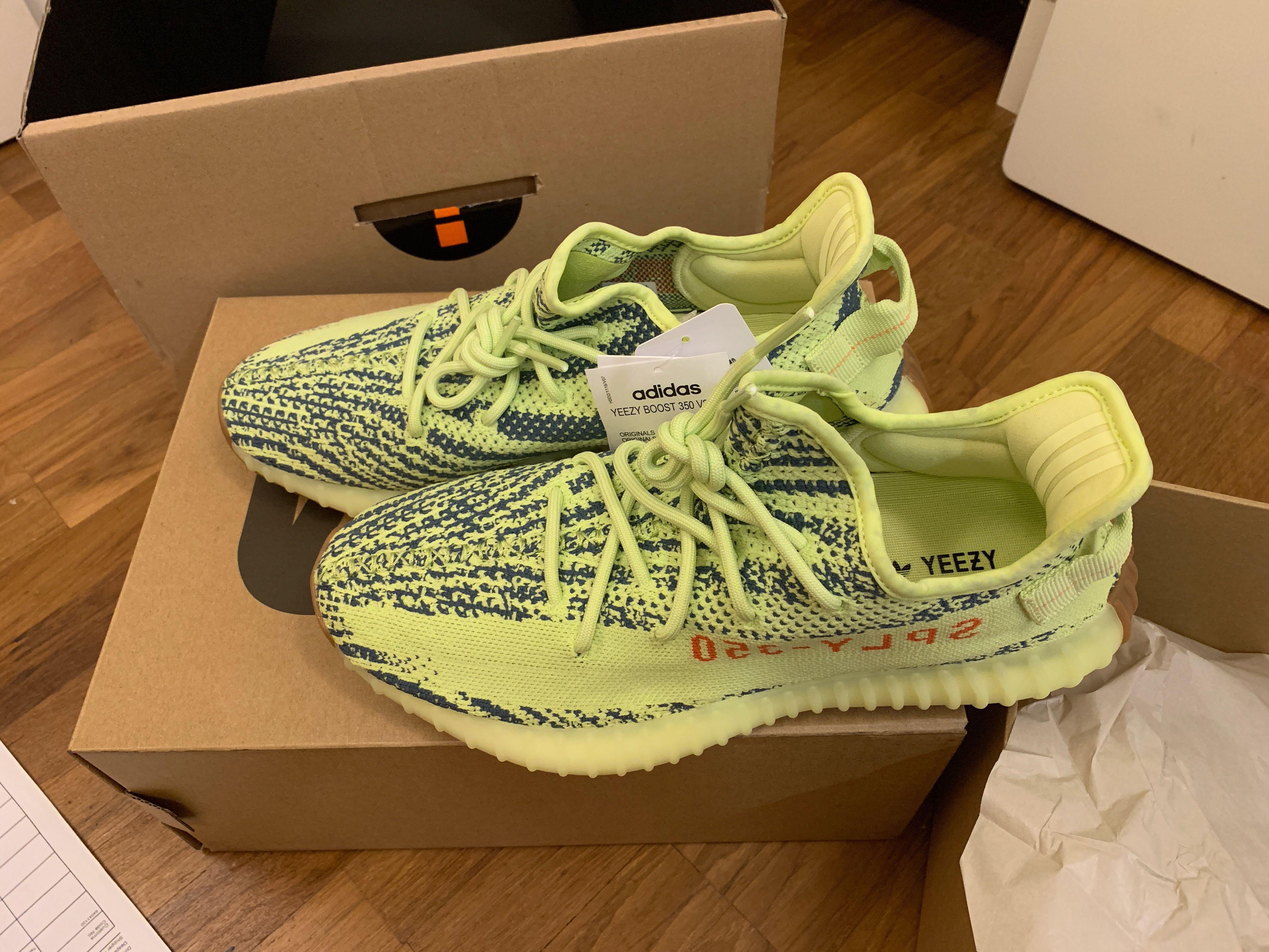 pretty nice 49046 5d32a Adidas Yeezy Semi Frozen Yellow BNIB US10 (Open to Trade for ...