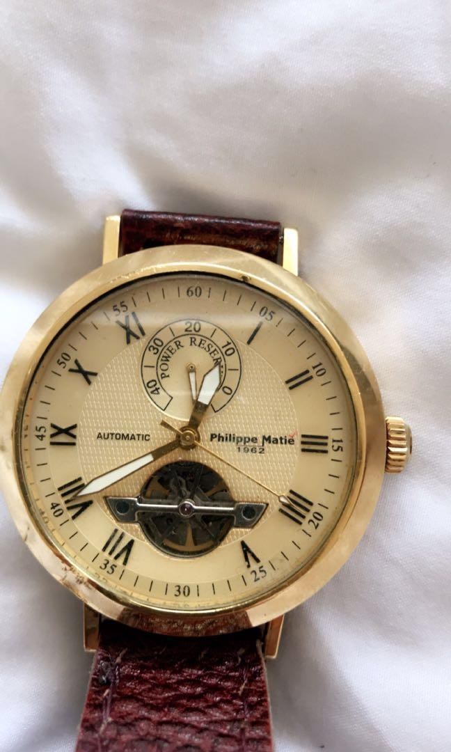 Authentic philippe Matie offer
