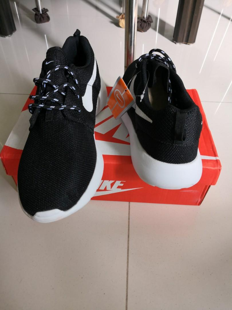 Brand New Black and White Sports Shoes
