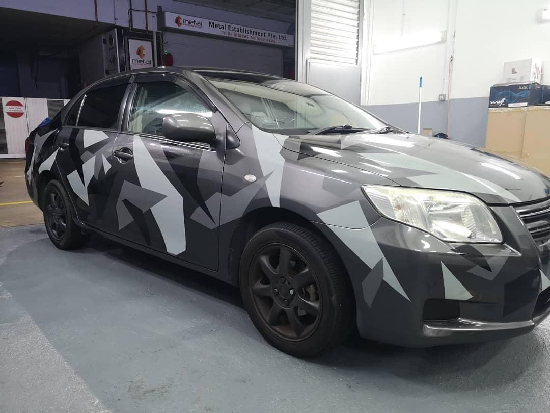 Car camo services! Vinyl wrap/Full wrap!