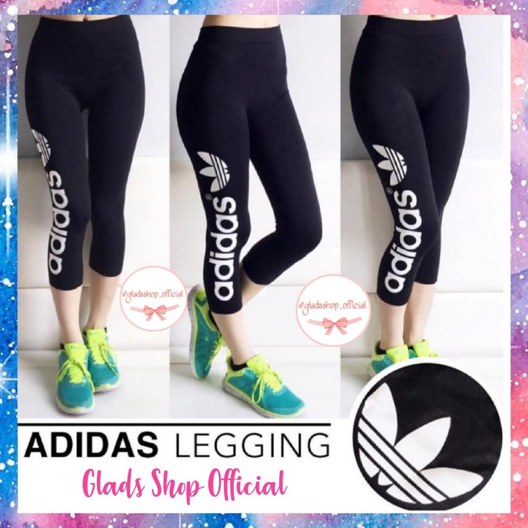 Celana Legging Olahraga Wanita Celana Senam Import Olah Raga Baju Olahraga Di Carousell