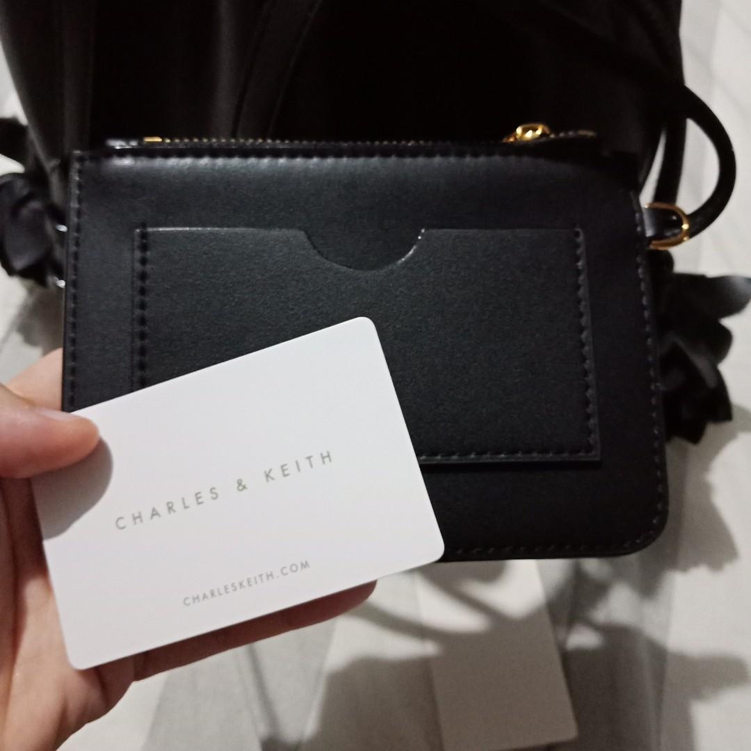 Charles & keith CK Bucket Bag - black