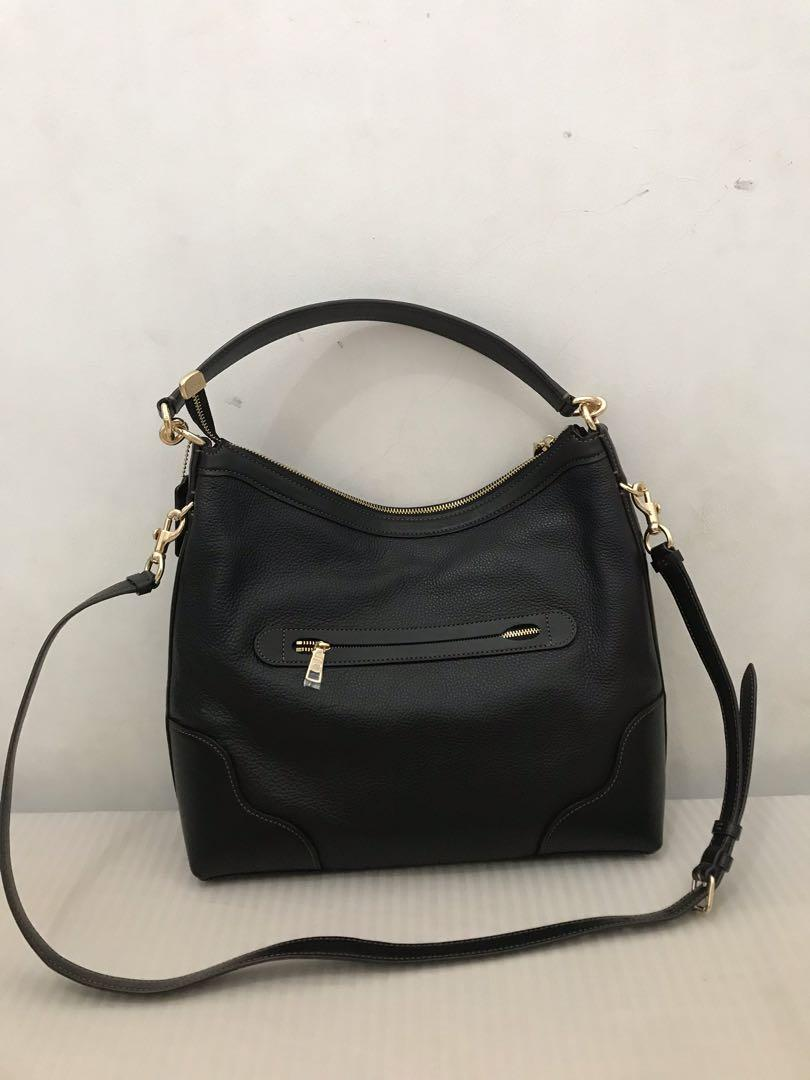 Coach Bag Ivie Hobo Black&Gold
