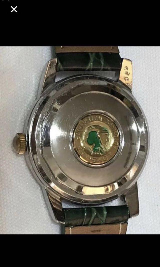 {Collectibles Item - Vintage Dress Watch} Very Rare Opportunity To Own This Authentic 1954 True  Vintage LONGINES Brand  Automatic Conquest Wrist Watch With Case Reference 629