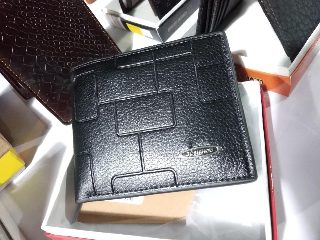Dompet pria sintetis leather