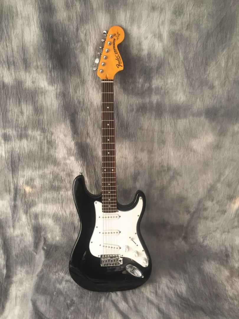 Stratocaster with Scalloped Fingerboard and Tonerider Pickups Electric  Guitar