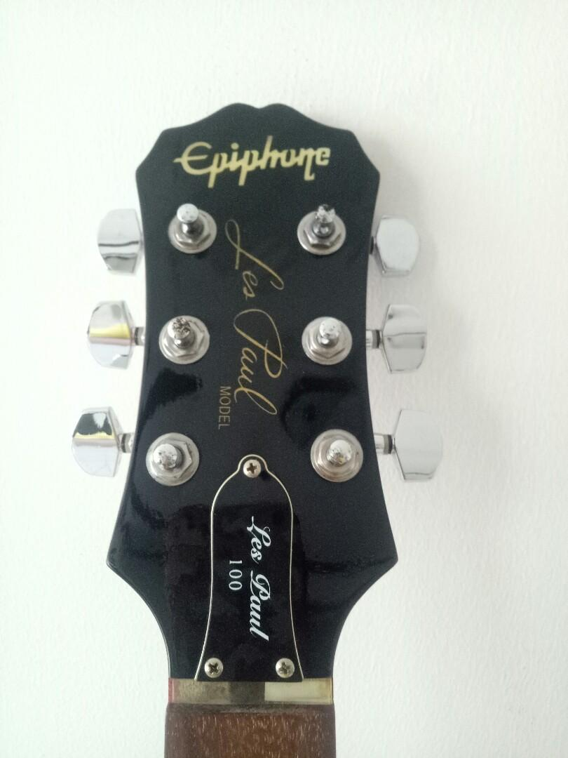 Epiphone LP100 left hand