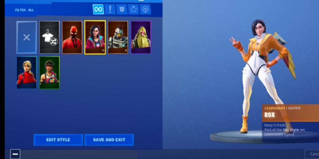 Fortnite Account (S9), Toys & Games, Video Gaming, In-Game