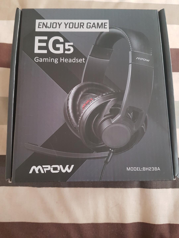 Gaming Headset : MPOW EG5 MPBH238AB
