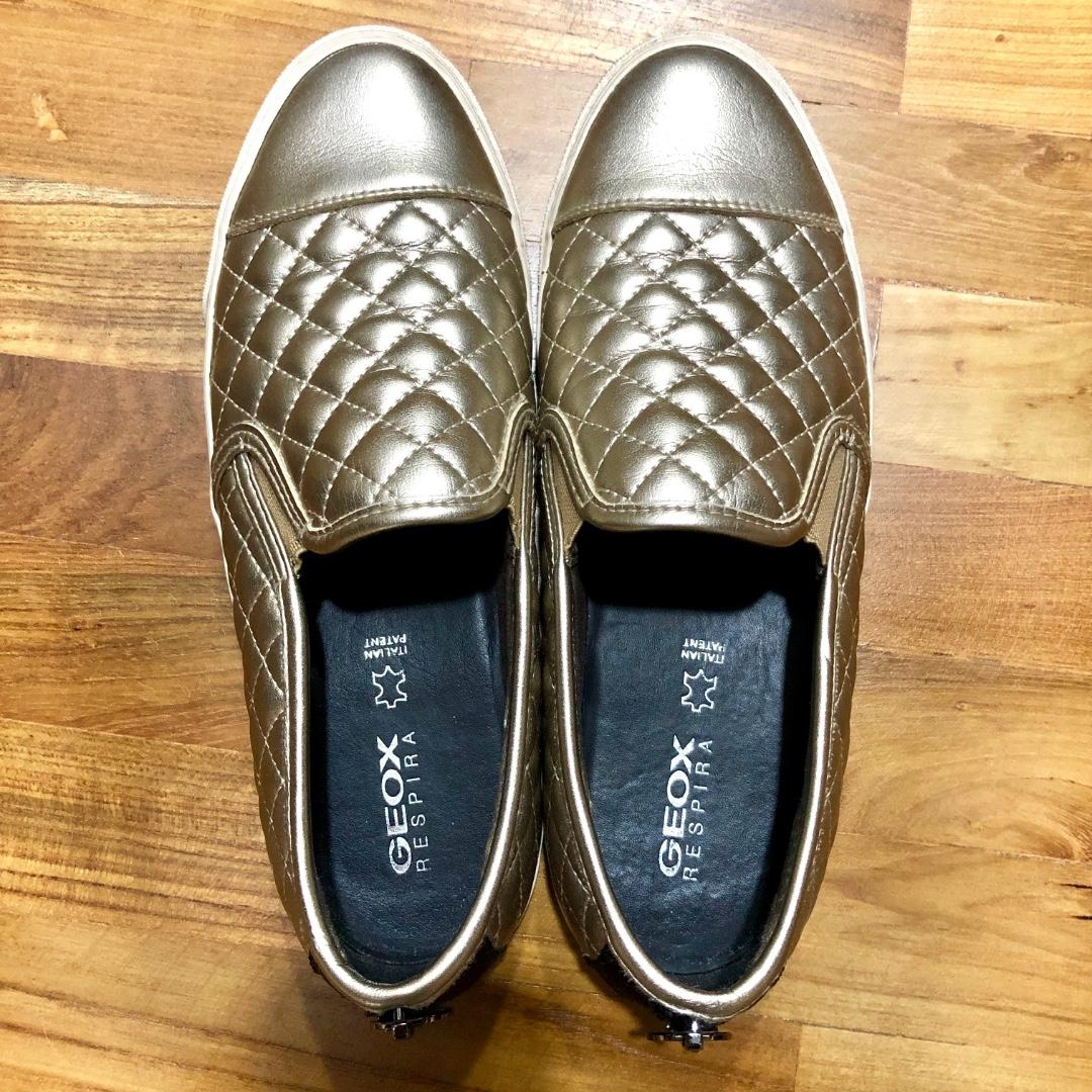 Got ready fairy pop  Reduced price - Geox Women's Bronze slip ons, Women's Fashion, Shoes,  Sneakers on Carousell