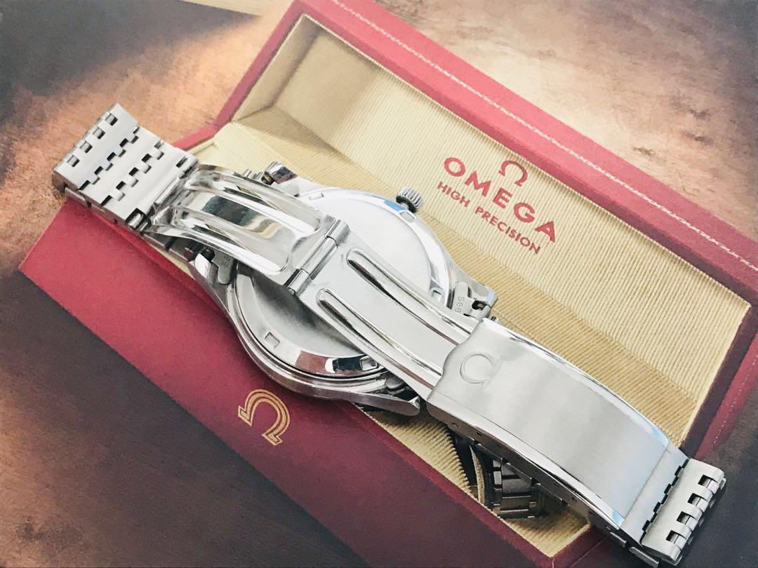 Stunning Omega Geneve, Silver Dial Automatic, Hacking, Quickset Date, Serial No: 38184029, Calibre 1020