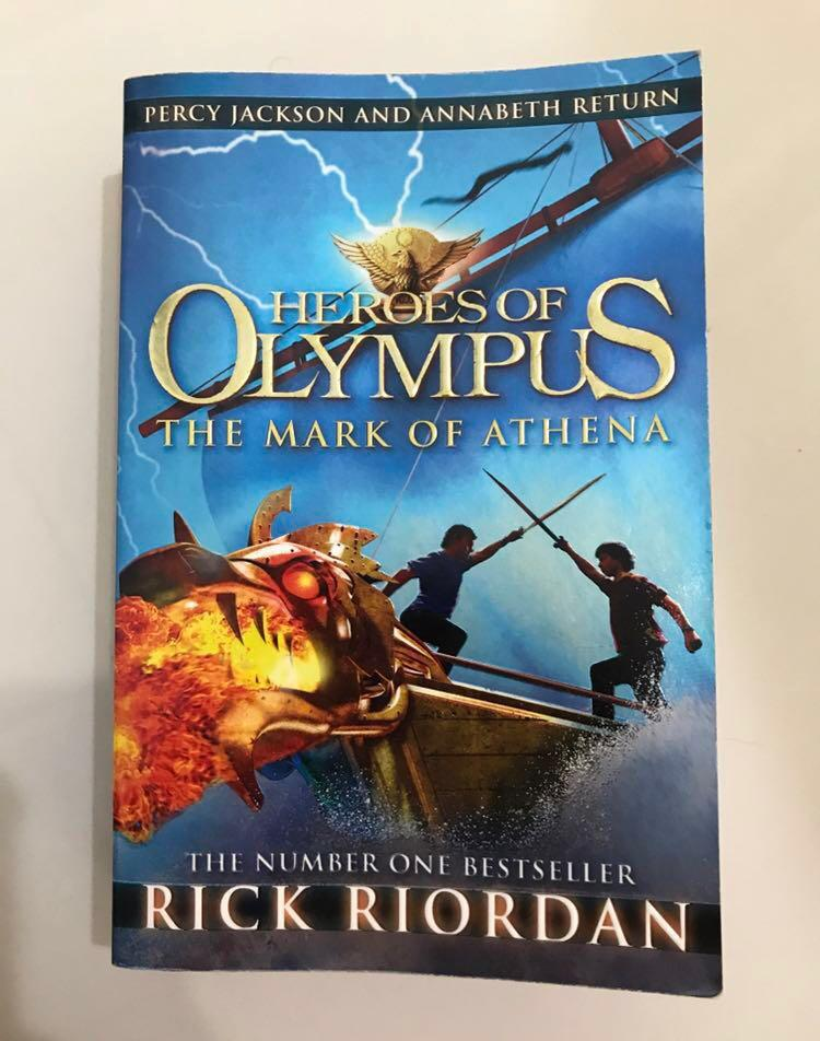 Heroes Of Olympus #3 the mark of athena