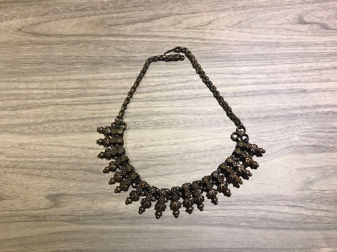 Indian set chain, earring , ring