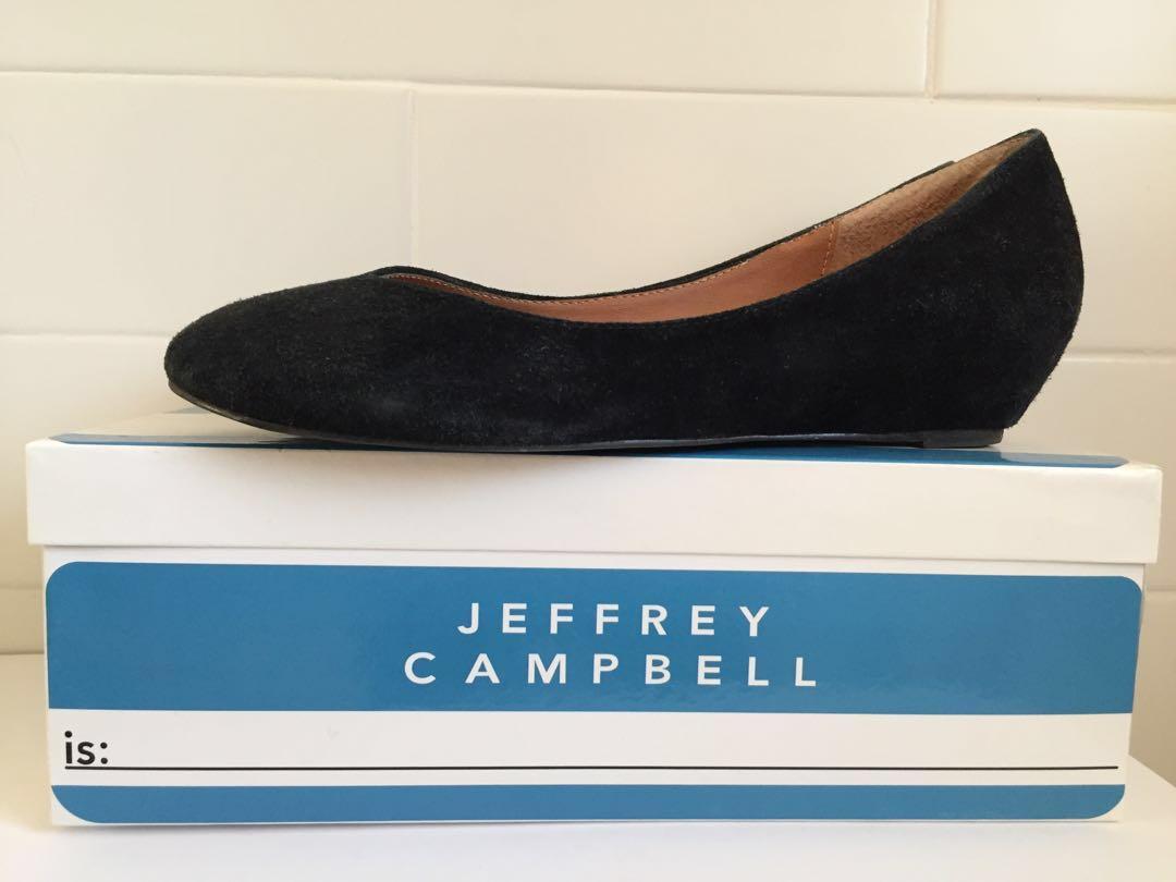 Jeffrey Campbell Suede Flatforms / Women's Sz 8