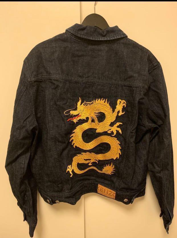 🈹️KENZO • dragon denim jacket size L (made in Italy.)