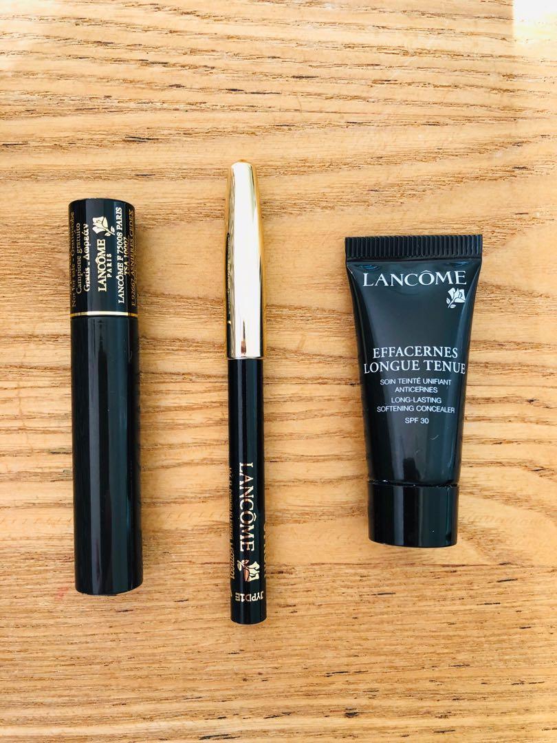 LANCÔME trio - eyeliner, mascara, concealer