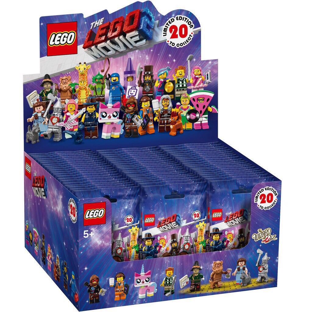LEGO Case 71024 Disney 60 minifigures Factory NEW Sealed Box LEGO CARDBOARD BOX