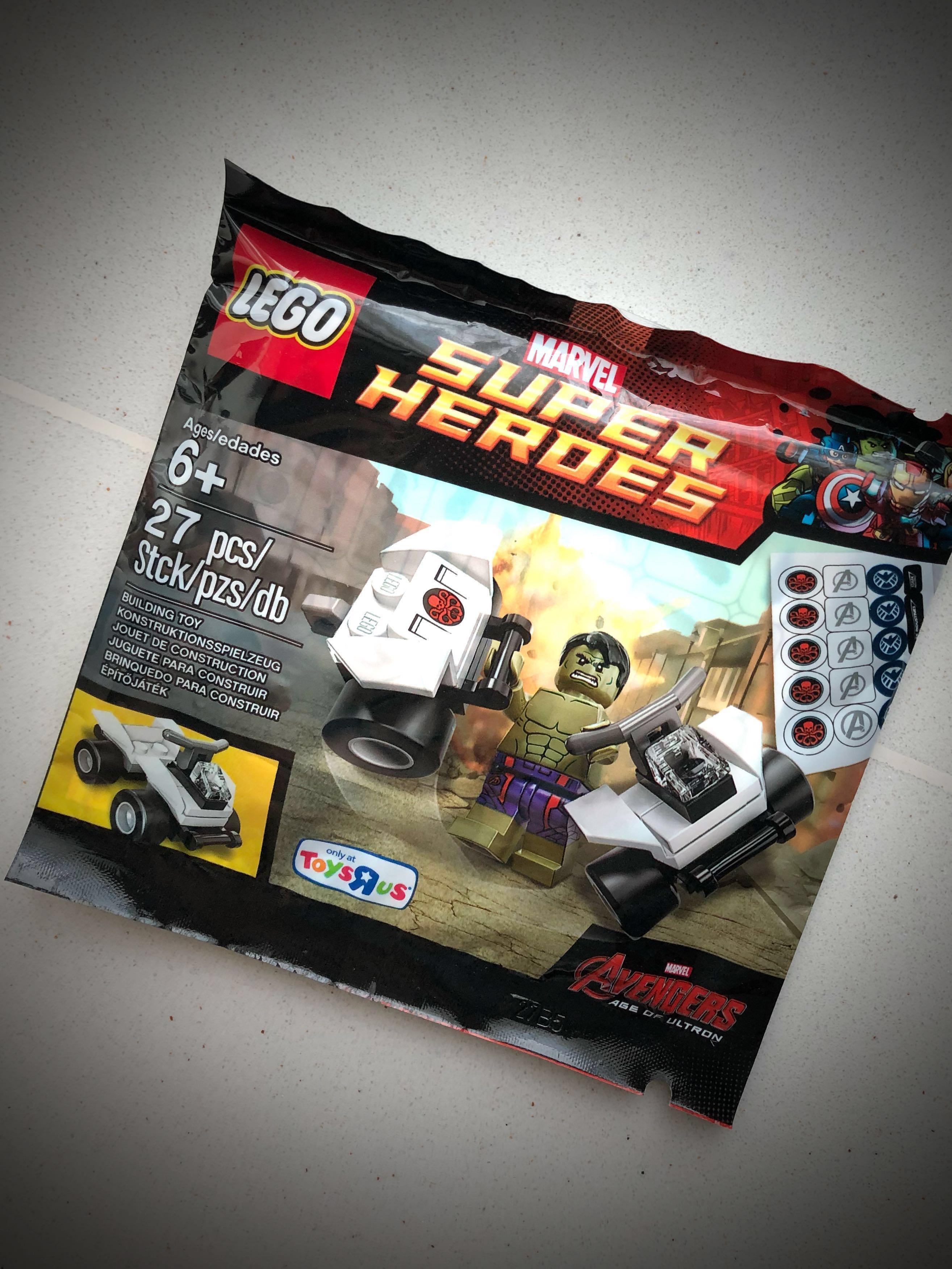 Lego Polybag- Hulk at Age of Ultron