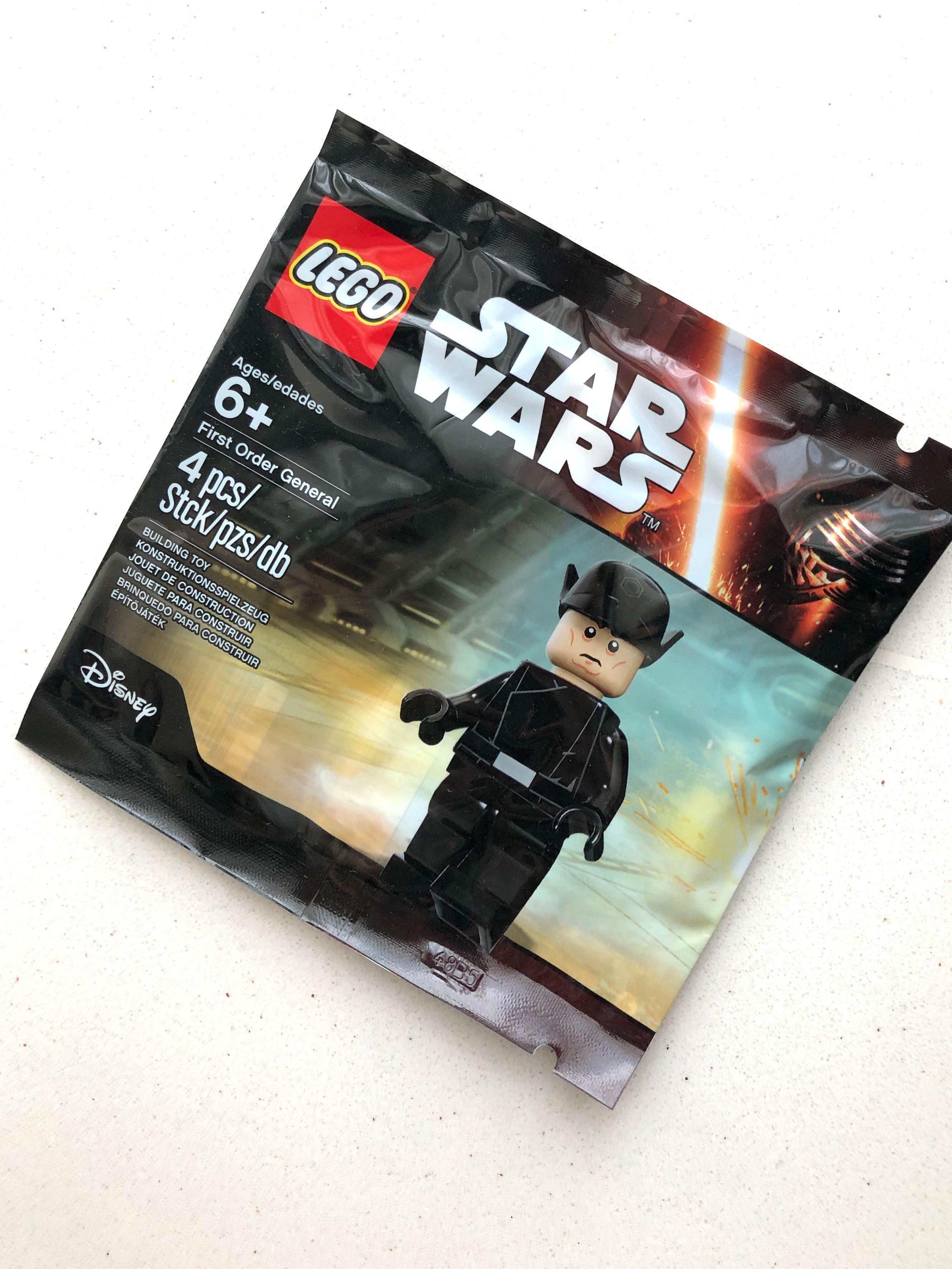 Lego Polybag Starwars First Order General