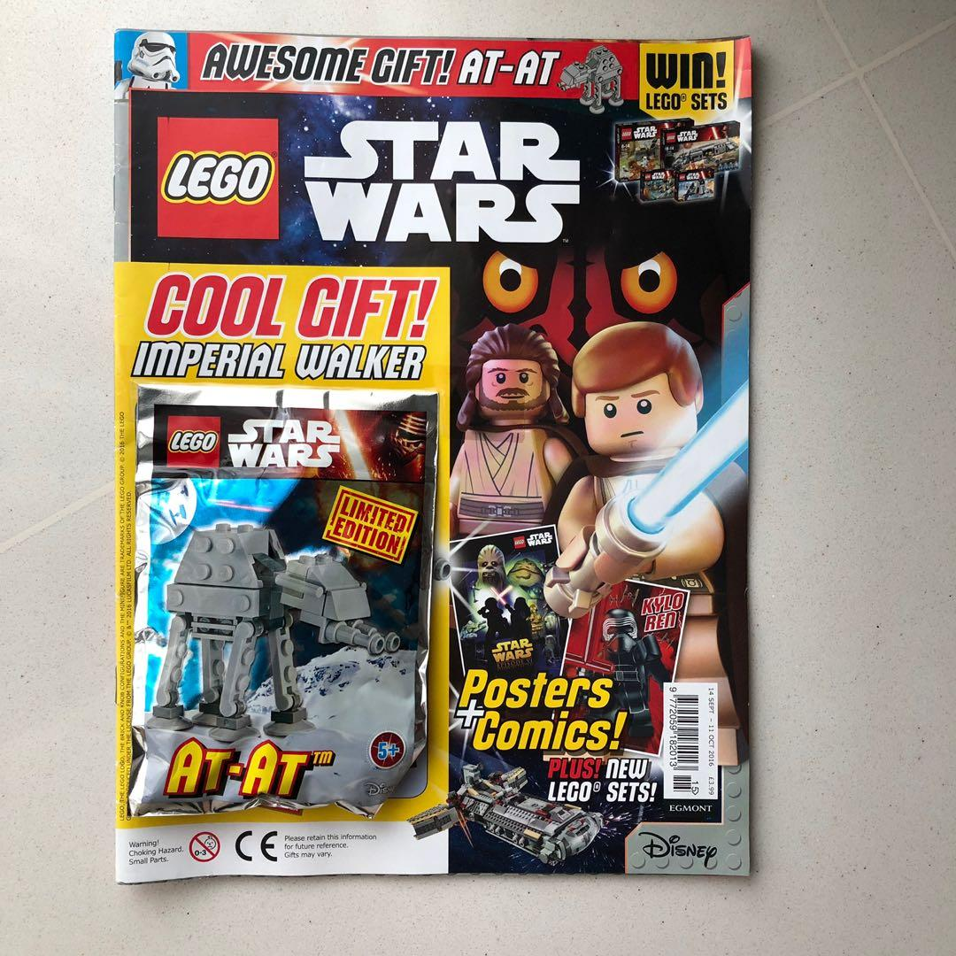 Lego Star Wars Magazine with AT-AT minibuild