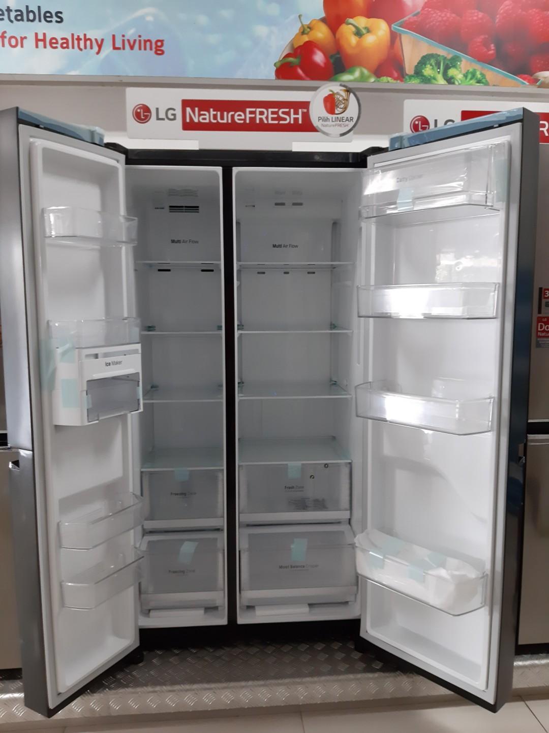 LG Refrigator SBS Cicilan Tanpa Kartu Kredit Free Ongkir Free 2Kali Angsuran