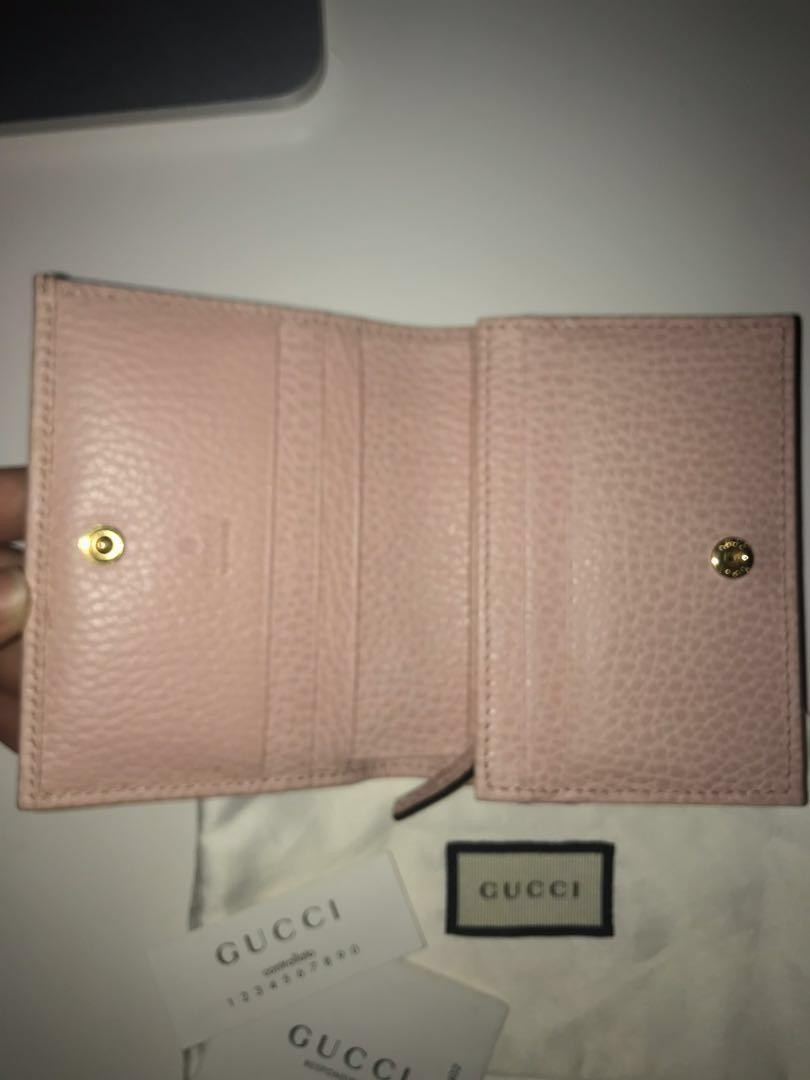 Light Pink Leather Card Case