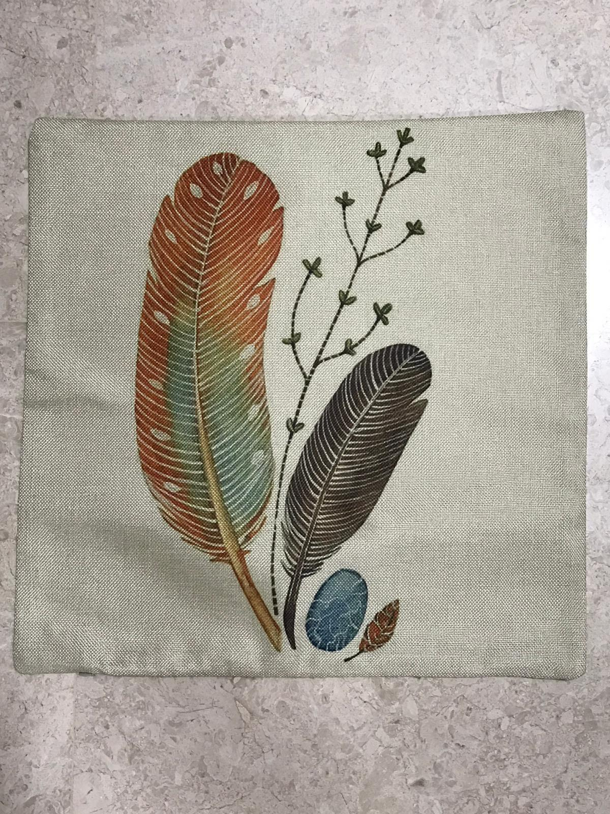 Linen Sofa Cushion Cover - Nature Series (SDJ-013)
