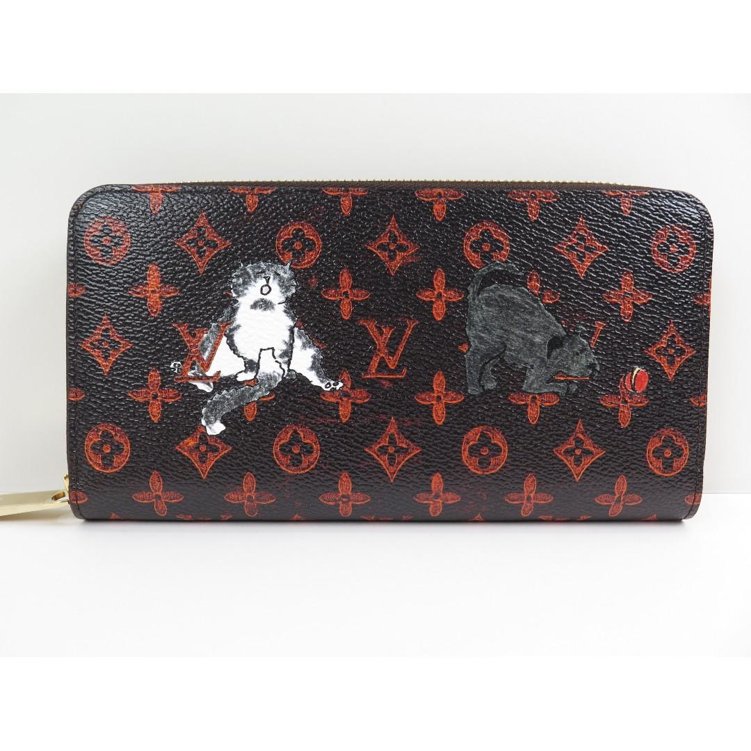 cfa4230f5 Louis Vuitton Monogram Catogram Zippy Long Wallet M63875, Luxury, Bags &  Wallets, Wallets on Carousell
