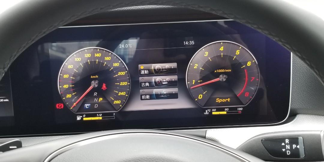 MERCEDES-BENZ E250 AMG 2018