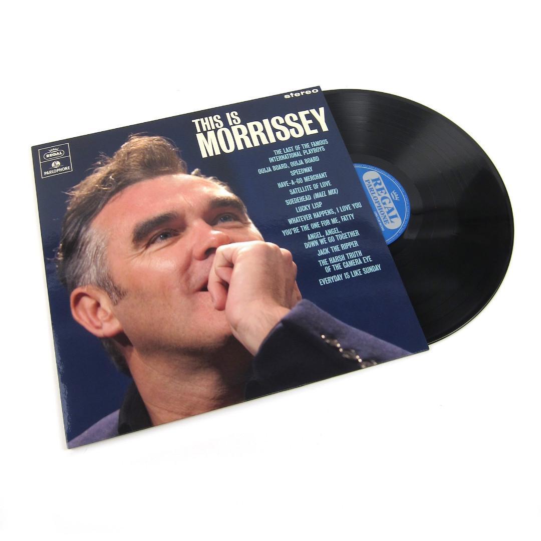 Morrissey - This Is Morrissey Vinyl LP Rhino Records