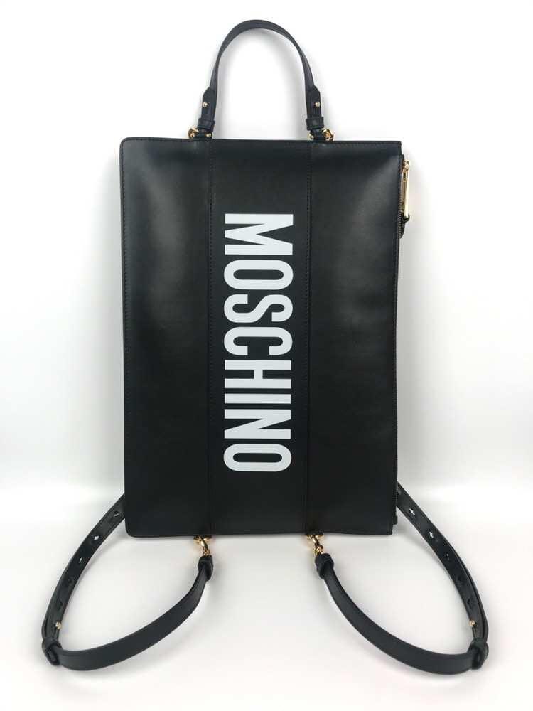 Moschino 2019SS 兩用包!可以當手包或肯背包!Clutch/backpack! $2480