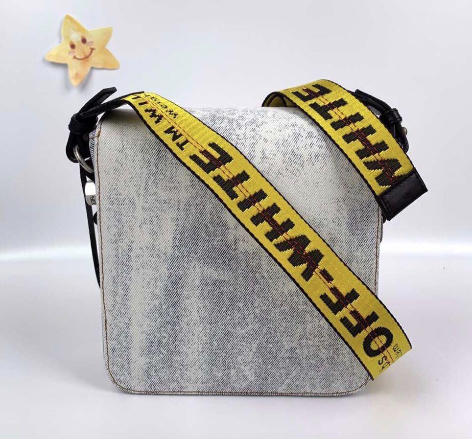 Offwhite cross Body Bag 2019SS item size 18cmx18cm! $3780!