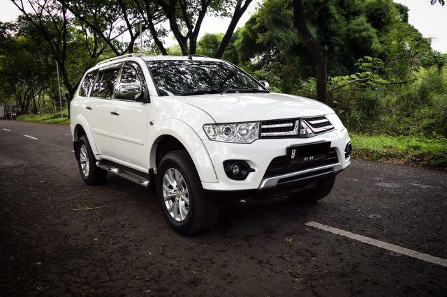 Pajero Sport Exceed AT 2015 mantap kondisi