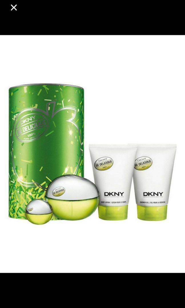 Parfum, spray parfum, body lotion, shower gel DKNY for ladies, women mint new, DKNY be delicious, Mother's Day gift, sale