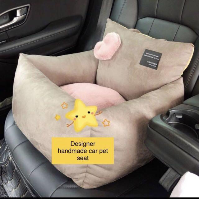 *Pre-Order* Car Seat Cushion for Pets (medium now in stock)