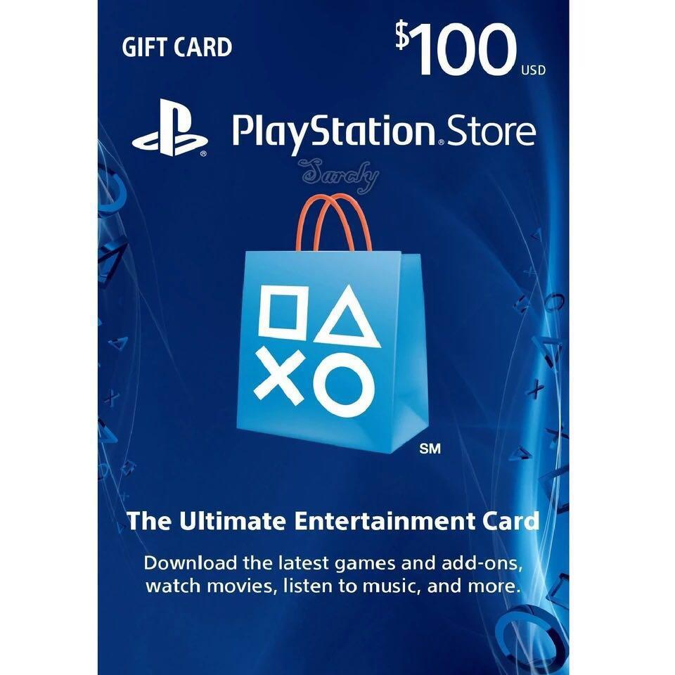 PSN US gift card $100
